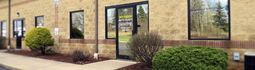 Defender Auto Glass Akron location